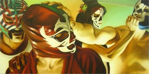 Lucha Libre by Andrew Wodzianski