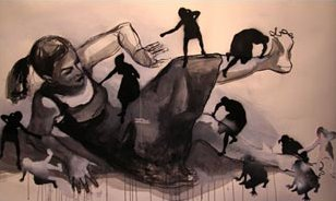 Rachel Waldron's painting