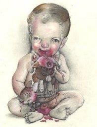 Scott Brooks' baby drawing