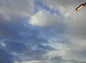 cloudy San Diegan skies