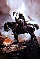 Death Dealer by Frank Frazetta
