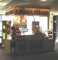 Omaha Steaks Booth
