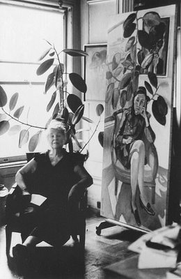 Alice Neel by Lida Moser
