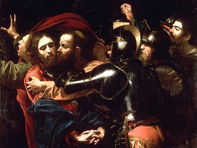 Caravaggio's The Taking of the Christ