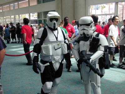 Troopers at ComicCon