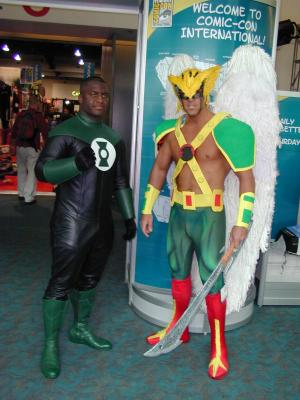 Green Lantern and The Hawkman
