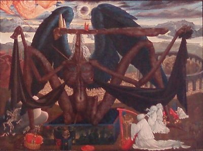 Ernst Fuchs Angel of Death