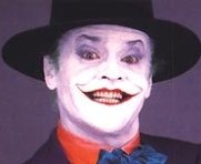 Nicholson as the Joker