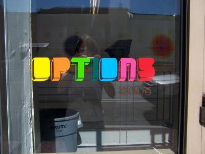 Options 2005 window