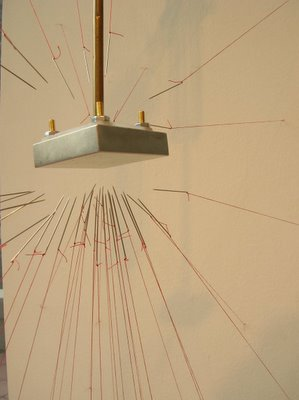 Kinetic sculpture by Claire Watkins