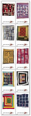 Stamps of Quilts of Gee's Bend